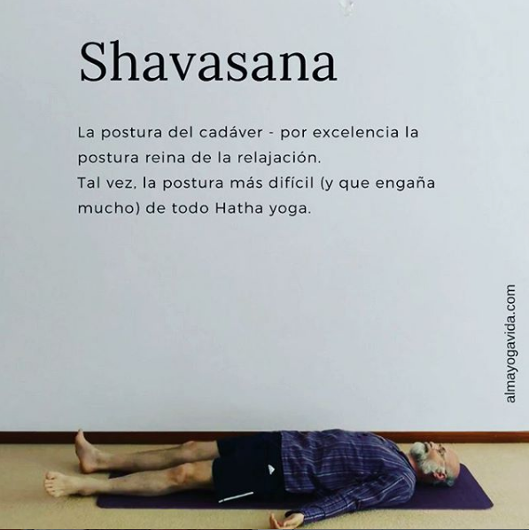 Shavasana en los lenguajesdelamor.com